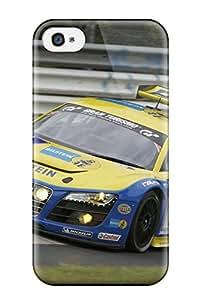 AERO Jose Aquino's Shop 3688730K64889375 Excellent Design Audi R8 Lms 12 Phone Case For Iphone 4/4s Premium Tpu Case