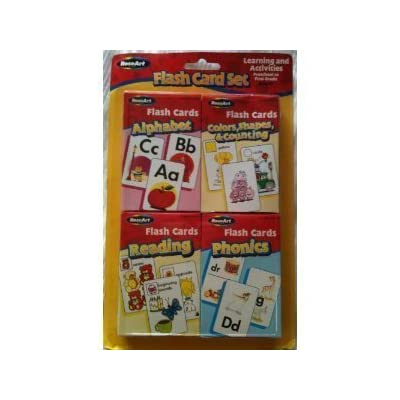 Flash Card Set - Alphabet, Reading, Phonics, Colors, Shapes & Counting: Toys & Games