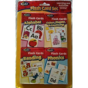 - Flash Card Set - Alphabet, Reading, Phonics, Colors, Shapes & Counting