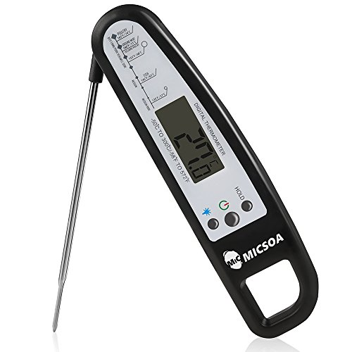 Micsoa Digital Thermometer Cooking Food Barbecue product image