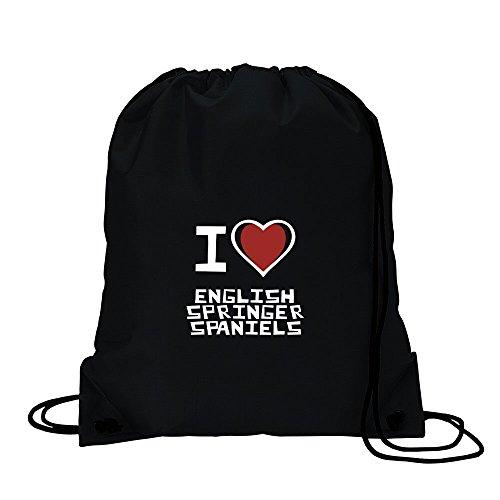 I love English Springer Spaniel Sport Tasche