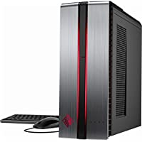 Newest HP Omen Flagship High Performance Gaming Desktop | Intel Core i5-7400 Quad-Core | NVIDIA GeForce GTX 1060 | 8GB RAM | 1TB HDD | DVD RW | Windows 10 | Windows Mixed Reality Ultra Ready
