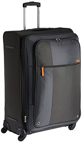 American Tourister Hugo Polyester 77cms Grey Softsided Suitcase (53W (0) 08 003)