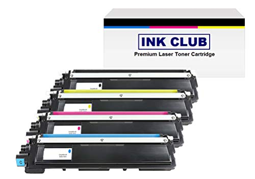 Compatible Toner Cartridge Replacement for Brother TN210, Value Bundle (K,C,M,Y) For HL-3040/30070, MFC-9010/9120/9320