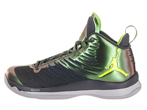 Nike Mens Jordan Super Fly 5 Mesh Trainers Grey