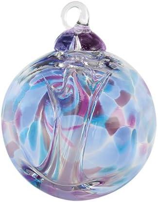 Glass Eye Studio Violet Spirit Ball 3″