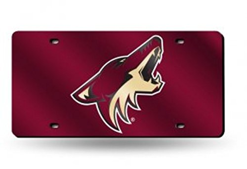 - Rico Phoenix Coyotes Laser Cut License Plate