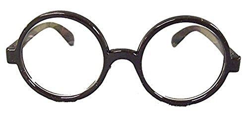 23575/80 H.P. Round Black Glasses Jacobson