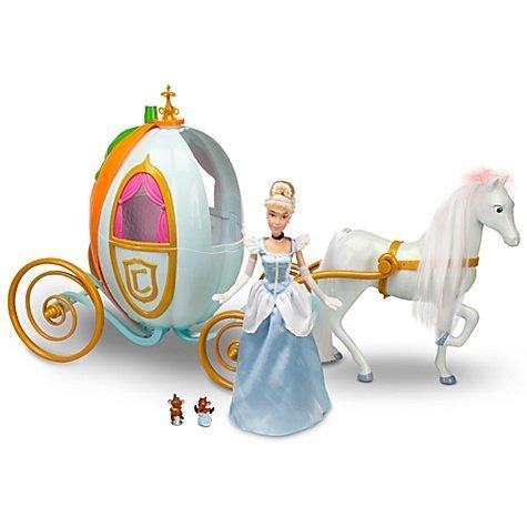 Disney Princess Cinderella Carriage Pumpkin Coach w/Full-Size 12