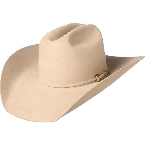 NRS American Hat Company Mens Silver Belly 1000X Mink 4 1 4 Brim Felt Cowboy 5a760562164b