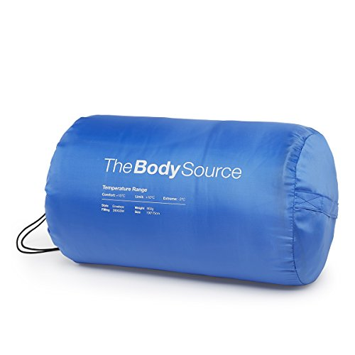 The Body Source Lightweight Envelope Sleeping Bag, 25°F ...