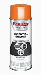 PlastiKote (2531-6PK) Orange All Purpose Spray Enamel - 10 oz., (Pack of 6)