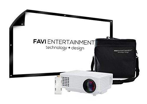 FAVI WVGA Video Projector items