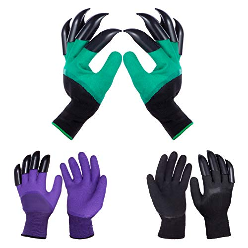 Garden Gloves with Claws for Women and Men outdoor Digging Planting Weeding Seed