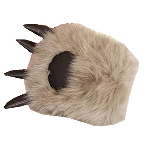 Cute cartoon animal claw gloves, holiday gifts, role play, plush toys