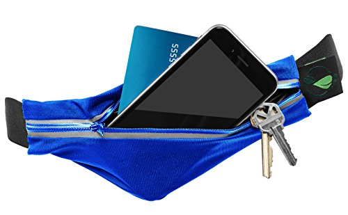 Foot Forward Running Belt iPhone 7 Plus 6s 6 5 Android Samsung - Absolutely No Bounce, Water Resistant, Exercise, Fuel, Water Belt! Runner Sports & Fitness Lightweight, Durable, Adjustable Waist Pack! (Match Hipster)