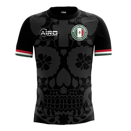 Third Mexico Jersey (Airo Sportswear 2018-2019 Mexico Third Concept Football Soccer T-Shirt Jersey)