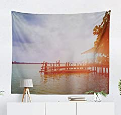 It is perfect for a wall hanging, tablecloth, beach forts, dorm room, window curtain, sofa cover or other room idea. With Wall Hanging tapestry, your room will go for a dramatic makeover. It is a must-have in any season for wall art and home ...