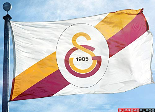 c49050f89d Galatasaray Flag Banner (90 x 150 cm) Turkey AS SK Premier Football Soccer