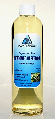 Meadowfoam Seed Oil Organic Carrier Expeller Pressed 100% Pure 12 oz