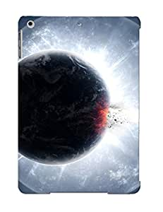 Pretty Qipbpt-2861-lmxpgbo Ipad Air Case Cover/ Exploding Planet Series High Quality Case For Thanksgiving Day's Gift