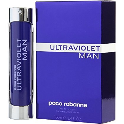 Ultraviolet Man Edt (ULTRAVIOLET by Paco Rabanne EDT SPRAY 3.4 OZ for MEN ---(Package Of 2))