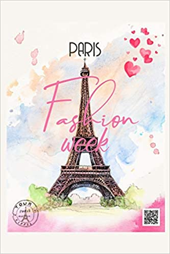231e1c461c21 Paris Fashion Week  Romantic Eiffel Tower French Notebook
