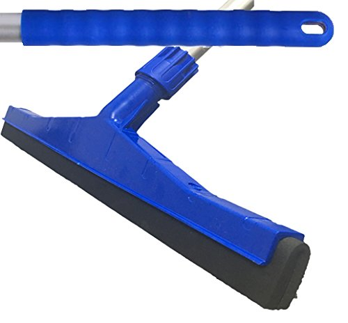 Blue Professional Hard Floor Cleaning Squeegee Amp Strong