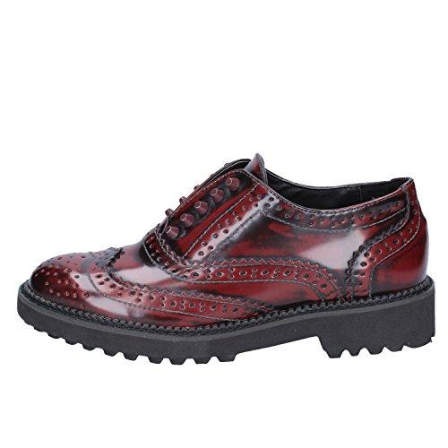 Cordones Francesco Piel de Zapatos Sint de Milano nqgvR04Bg