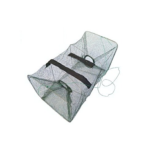 Foldable Fish Lobster Crab Crawfish Shrimp Minnows Fishing Bait Trap Fish Catching Net Cage by HuaYang
