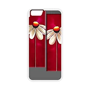 red floral DIY Case Cover for iPhone6 Plus 5.5