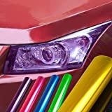Green Auto Car Sticker for Fog Light Headlight Taillight Film Sheet for Car Modification (12 Inch X 48 Inch)