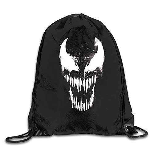- Drawstring Bag Poisonous Spider Ven-om Gym Sport Bags Cinch Sacks Travel Hiking Backpack For Men Women