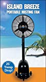 Cool-Off 12 Gallon Island Breeze Oscillating Misting Fan with 3-Speed Quiet Operation