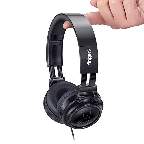 FINGERS Superstar H6 Wired Headset with Mic and Powerful Bass