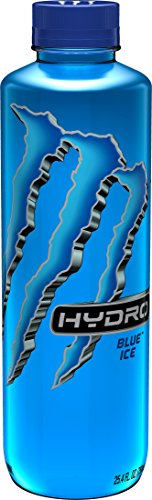 (Monster Energy Hydro Sports Drink, Blue Ice, 25.5 ounce (Pack of 12))