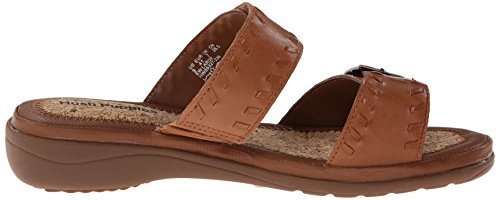 Flop Keaton Rebecca Puppies Tan Leather Women's Hush Flip RqFwC7