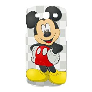 Unique Design Cases Samsung Galaxy S3 I9300 Cell Phone Case Mickey Mouse Sswrn Printed Cover Protector