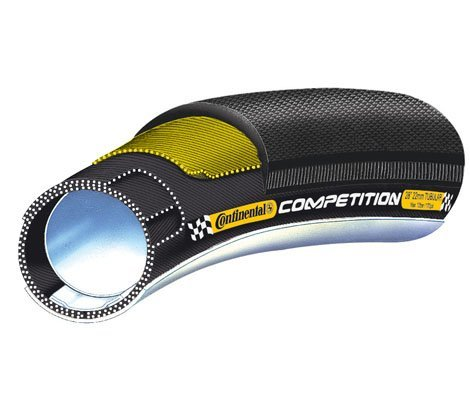 Continental Competition Tubular Road Tire - BLACK, 700X22
