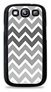 Chic Shades of Grey Hardshell Phone Case for Samsung Galaxy S3