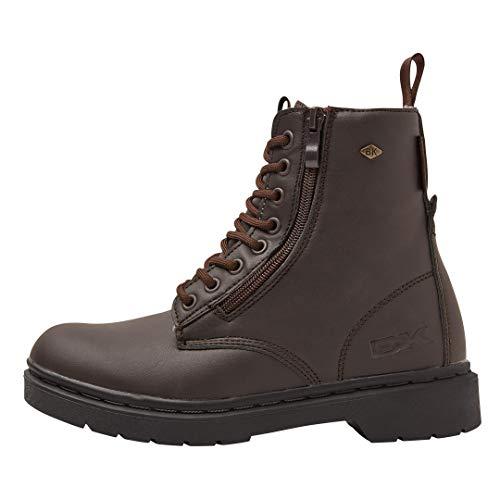 Scuro British nero Knights Marrone Alte Sneakers Blake Donne fvwTY