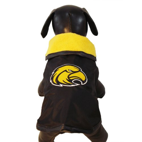 sippi Golden Eagles All Weather Resistant Protective Dog Outerwear, Small (Southern Mississippi Golden Eagles Jackets)