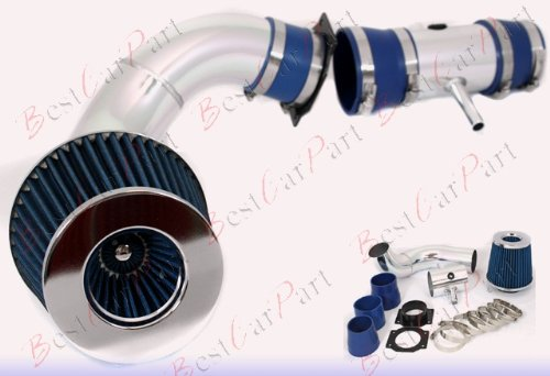 95 96 97 98 99 Nissan Maxima V6 Cold Air Intake Blue (Included Air Filter) #Cai-ns001b ()