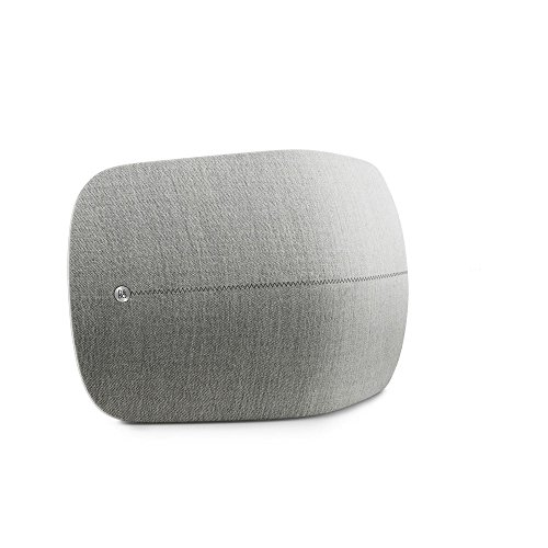 B&O PLAY by Bang & Olufsen Beoplay A6 Music System Multiroom Wireless Home Speaker, certified with Amazon Alexa Echo Dot (Light Gray)