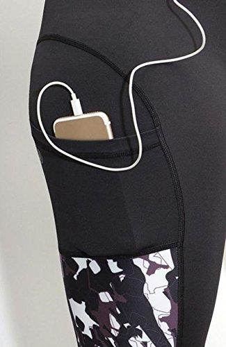 crece nunca leggings negro Activewear Acai mujeres para 8qOzZO7f