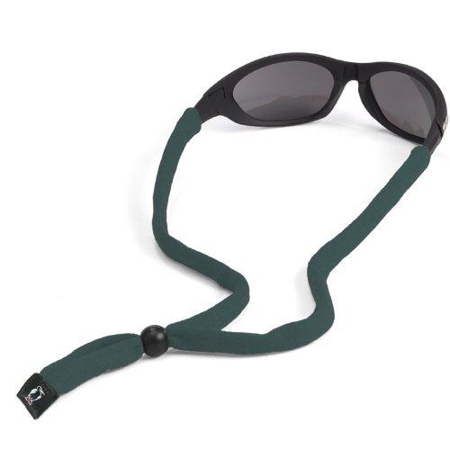 Chums Original Cotton Standard End Eyewear Retainer, Dark Green