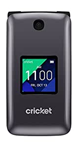 Cricket Wireless - Alcatel QUICKFLIP 4044C - Flip Phone