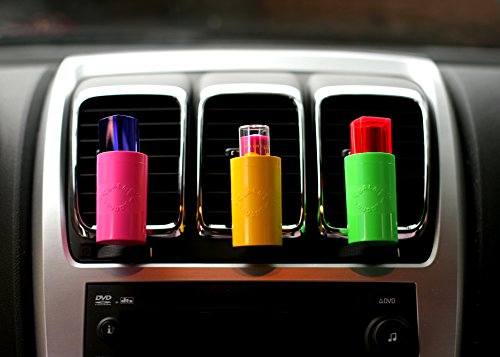Balm Buddy Lip Balm, Vape Pen, or Lighter Holder for Your Car - Rotates to fit All Air Vents - Keeps Your Favorite Products Upright and Accessible! (Black)