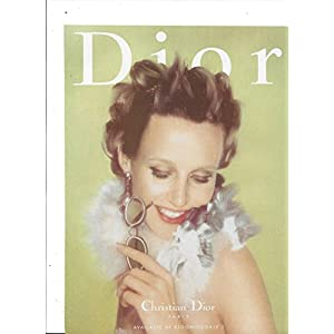 MAGAZINE ADVERTISEMENT For 1998 Dior Eyeglasses