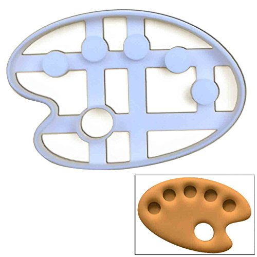 (Artist Palette cookie cutter, 1 pc, Ideal for artist themed)